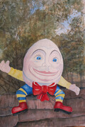 Humpty at Storybook Gardens