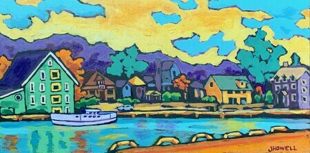 Port Stanley Afternoon - SOLD
